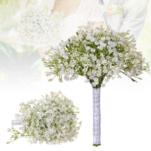 High-grade Decoration Plastic Dried Flower Enamel Starry Plant Simulation Bouquet Fake Home