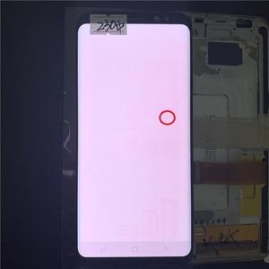 Image 3 - Original super amoled s8 lcd para samsung galaxy s8 g950 g950f display lcd tela de toque digitize com pontos pretos