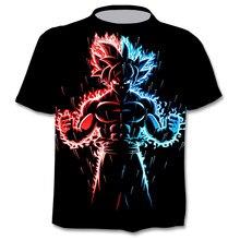 Camiseta con gráfico de Anime Harajuku para hombre, camiseta 3D, moda urbana, ropa de talla grande, novedad de verano 2021