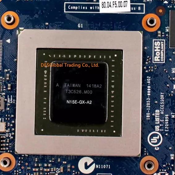 GTX880M GTX 880M N15E-GX-A2 DDR5 8GB видеокарта для ноутбука DELL M17X R4 R5 M18X R2 R3 100% Быстрая доставка