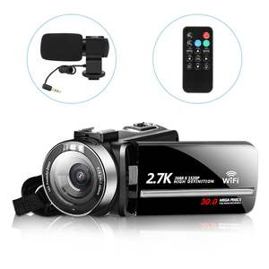 Camcorder Camera 18X 1080P Support LCD Remote-Control Touch-Screen IPS HD Real 24MP Original