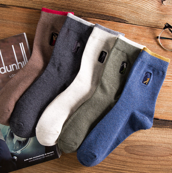 High Quality Fashion 1 Pairs/lot Brand PIER POLO Casual Cotton Socks Business Embroidery Men's Socks Manufacturer Wholesale pier polo brand new men s leisure socks coconut tree patterns cotton socks men s favorite gift socks factory direct sales