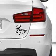 DEER BOAR! Car Stickers Decals Interesting Individually Decorated Motorcycle Decals Car Styling 15 X 15 cm DBCS01(China)