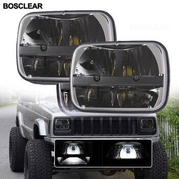 LED Projector Headlight For Jeep Cherokee XJ car accessries for GMC Savana Ford F550 F350 F250 E150 E-350 EconolineFor Chevrolet