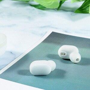 Image 2 - Oryginalne słuchawki Bluetooth Xiaomi AirDots edycja młodzieżowa Mi prawdziwe słuchawki bezprzewodowe zestaw słuchawkowy Bluetooth 5.0 TWS Air Dots