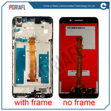 Voor Huawei Honor Y6II Y6 II Lcd-scherm + Touch Screen Vergadering met frame(China)