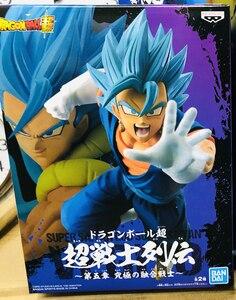 """Image 5 - Banpresto figura de Anime japonés """"Dragon Ball Super"""", colección Original de Banpresto Chousenshi Retsuden, SUPER SAIYAN VEGITO Vegetto"""