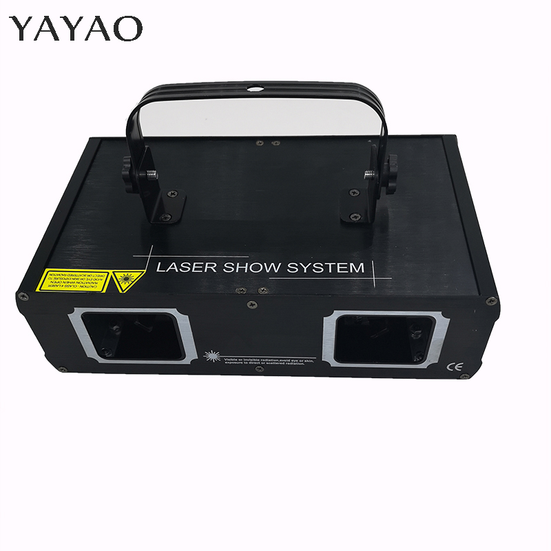 RGB  DMX512 Laser Line Scanner Stage Lighting Effect Projector Light DJ Dance Bar Xmas Party Disco Show Lights
