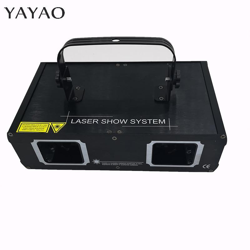 RGB  DMX512 Laser Line Scanner Stage Lighting Effect Projector Light DJ Dance Bar Xmas Party Disco Show Lights