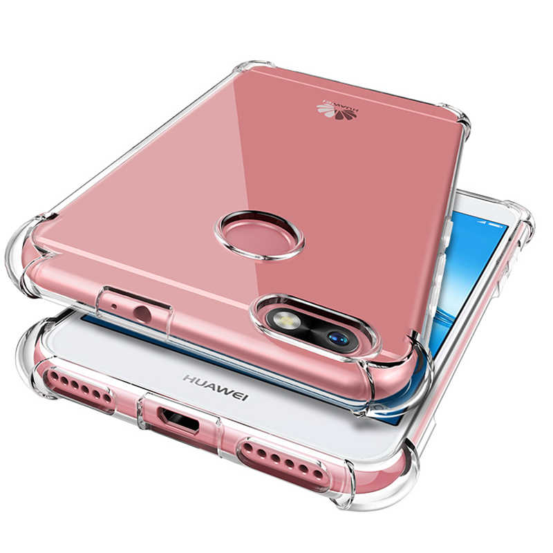 Soft Silicone TPU Shockproof Case For Huawei Honor 20 Pro 20i V20 10 Lite 9 8X 8A 7C 7A Nova 3 3i 5 5i Y5 Y6 Y9 Prime 2019 Cover