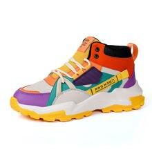 2020 новые модные кроссовки мужские сетчатые повседневные уличные