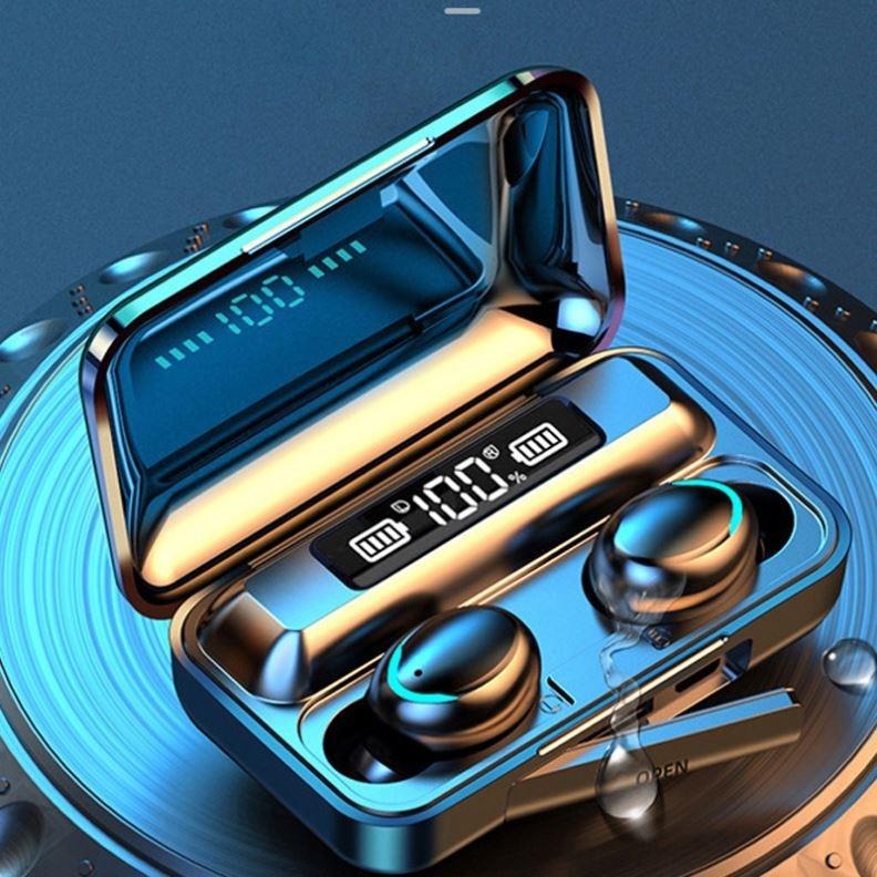 Купить sohokda f9 5c водонепроницаемые 9d стерео спортивные наушники