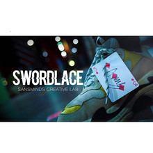 Pro Series: Swordlace White(DVD и скрытое приспособление) от SansMinds Creature Lab Illusions Magic Tricks карты уличный бар трюк