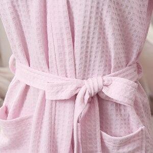 Image 5 - Roupão feminino kimono de absorção de água, roupão feminino sensual moderno de banho, vestidos de dama de honra para amantes