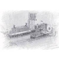 02118 city series The Cargo Train Model Building Blocks set Compatible 60198 Classic education Toys for children