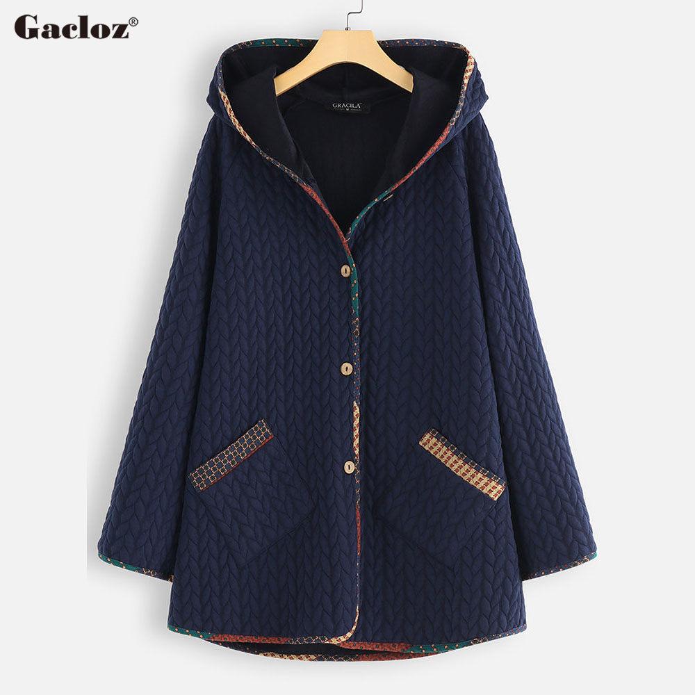 Autumn Winter Jacket Women Hooded   Parkas   Coats Plus Size 5XL Outwear Women chamarra mujer invierno 2019 winter jas dames