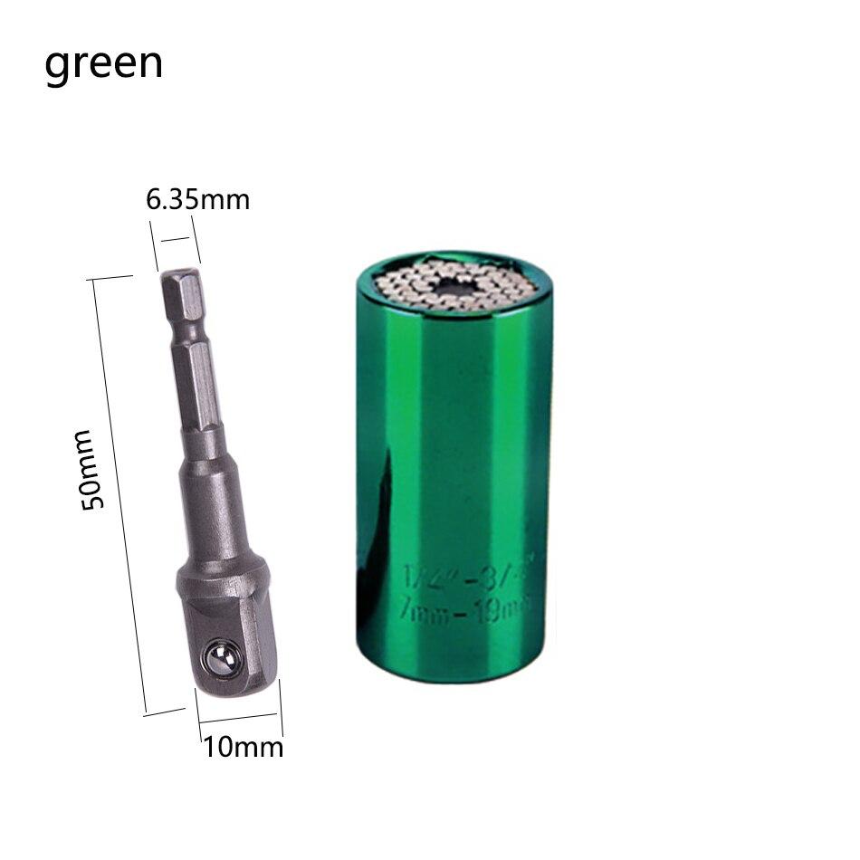 7-19-mm-universal-torque-wrench-head-set-socket-sleeve-ratchet-bushing-spanner-power-drill-key-magic-grip-multi-bushi-hand-tools