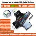 USB 3,1 Typ-C USB tester DC Digital voltmeter amperimetor spannung strom meter amperemeter detektor power bank ladegerät anzeige