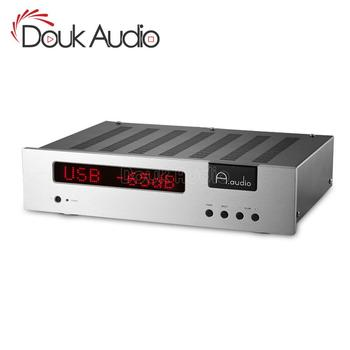 Douk Audio HIFI Power Integrated GE5670 Tube Amplifier / Tube Preamp With PCM2706+PGA232 USB Decoding