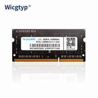 Wicgtyp DDR3 4GB 8GB 1600Mhz mémoire Ram 204pin pour ordinateur portable avec haute performance haute vitesse 1.35V