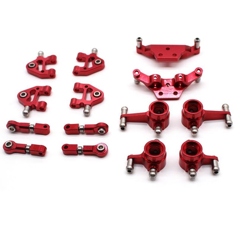 Metal Full Set Upgrade Parts For Wltoys 1/28 P929 P939 K979 K989 K999 K969 Rc Car Parts,Red