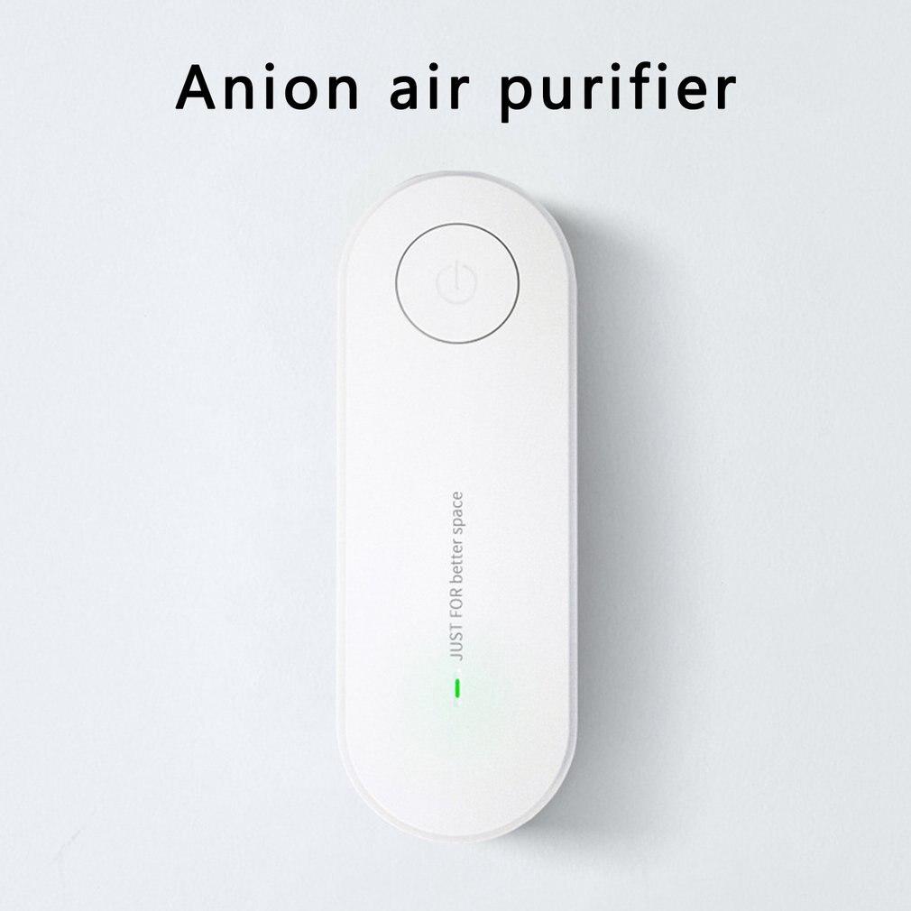 Очиститель воздуха с отрицательными ионами, дезодорирующий запах, долговечное удаление пыли и дыма, удаление формальдегида, Домашнее испол...