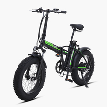 20inch electric mountian bicycle 48V 15ah lithium battery 500w rear wheel motor max speed 40km h