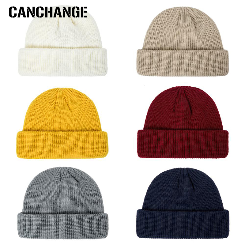 Cap Knitted Hats Beanies Smart Small-Size Fashion-Design Women Men's title=