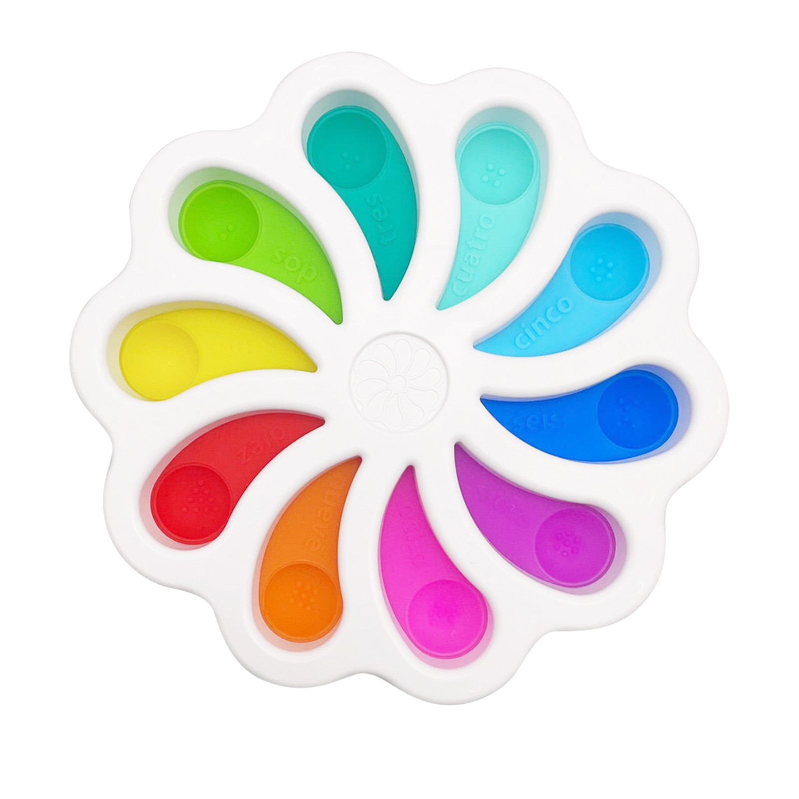 Fidget Toy Sensory-Toys Stress-Relief Dimple Digits Toddlers Soft-Silicone Early-Educational img2