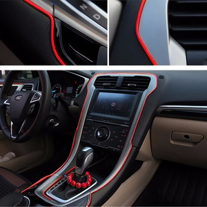 Image 4 - 5M Interior Decoration Car Styling For Abarth 500 Ssangyong Kyron Rexton Korando Actyon Lifan x60 Chery Tiggo Saab Accessories
