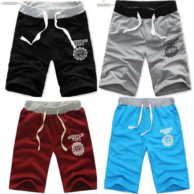 2018 Summer MEN'S Shorts MEN'S Wear Large Size Casual Shorts Korean-style Beach Shorts Short Sweatpants
