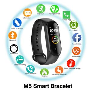M5 Smart Watch Heart Rate Monitor Blood Pressure Fitness Tracker Wristbands Band 5 Sport Watch For Android Men Women watches