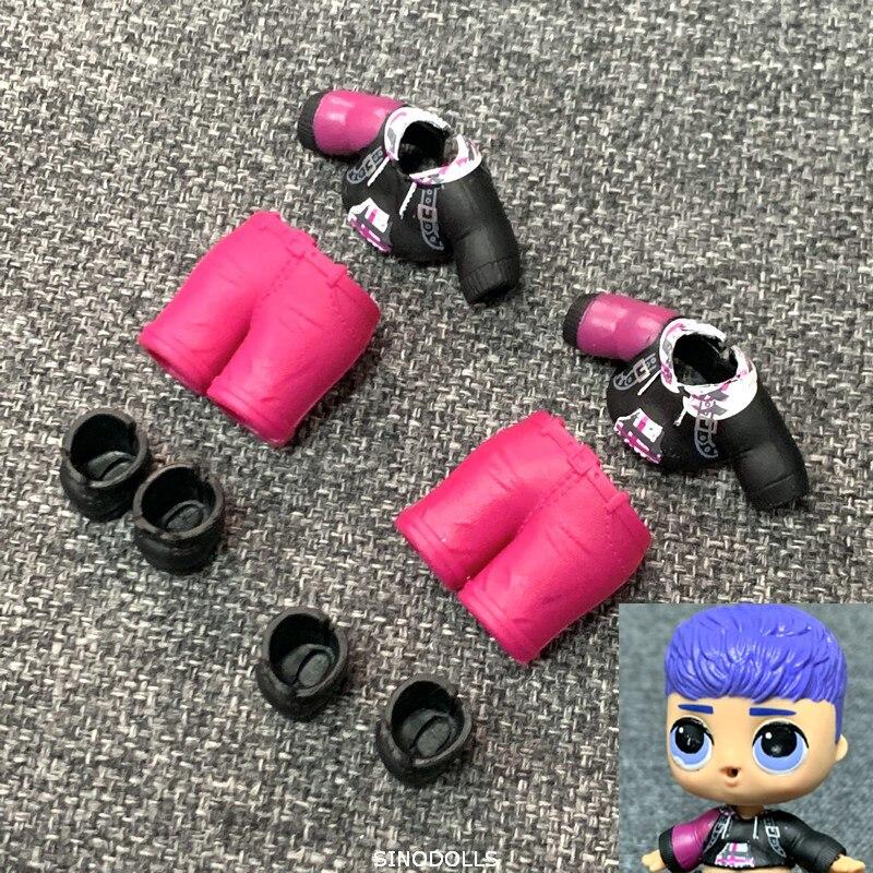 Lol Surprise Dolls PUNK BOI BOY/'s outfit Clothes /& SHOES /& bottle Authentic
