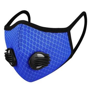 Fashion Black Mask Unisex Washable Breathing Mascarillas Face Mask Cycling Anti Dust proof Mouth Mask Respirator Mouth-Muffle
