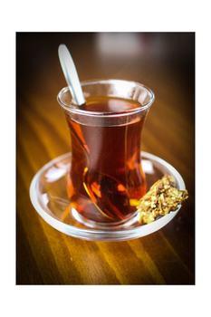 Turecki kubek do herbaty Üsküdar herbaty zespół 12 sztuk Slim zwężone kubek do herbaty na cieśninę bosfor wycieczka turecki kubek do herbaty tradycyjnej tureckiej herbaty tanie i dobre opinie Kubek herbaty i Spodek Zestawy TR (pochodzenie)