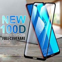 100D Schutz Glas Für Huawei Y7 Y6 Y5 Prime 2018 2019 Y5 Lite Gehärtetem Glas Y9 2018 Y9 Prime 2019 y9S Screen Protector Film