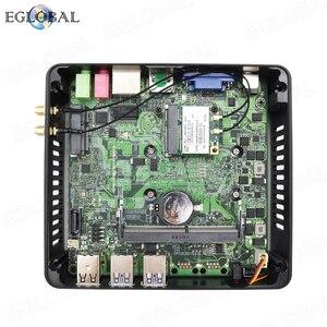 Image 5 - מכירה לוהטת מיני מחשב עם מאוורר I3 i5 i7 DDR3L/DDR4 גרסה משחקי מחשב Hdmi VGA תצוגה כפולה Win7/8/10 לינוקס זול Porket מחשב