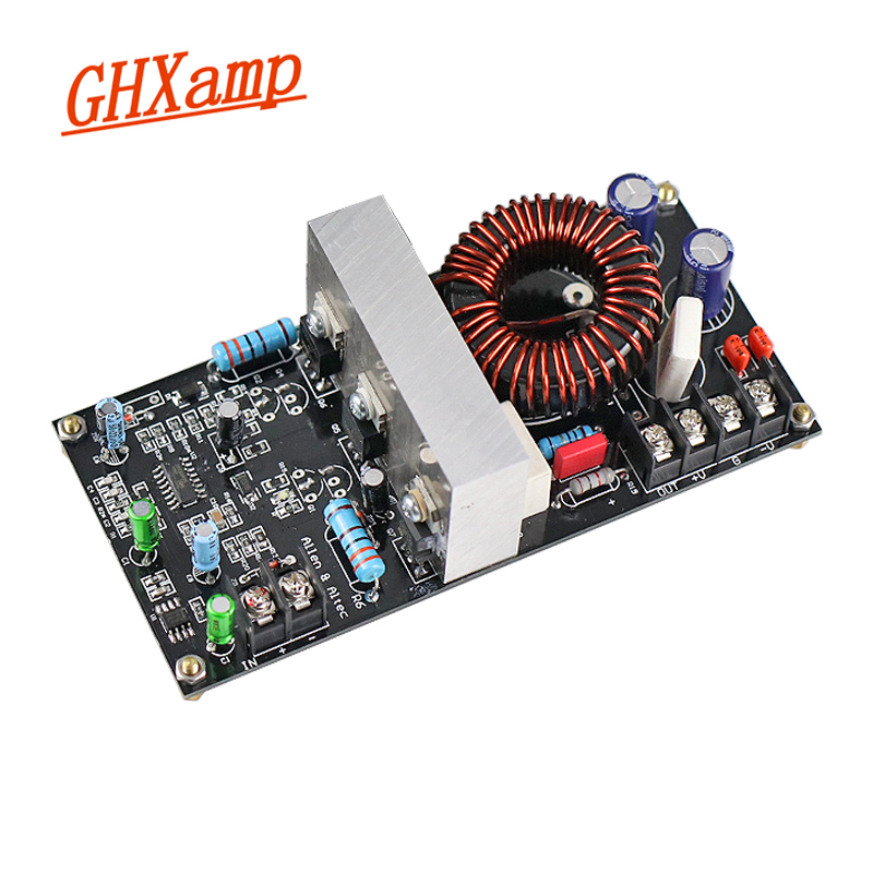 GHXAMP 300W Subwoofer Amplifier IRS2092 Mono HIFI Digital Class D Amplifier Board 23N20 Audio DIY AC Dual 36V Updated 1pc