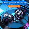 3.5mm Wired Headphones With Bass Earbuds Stereo Earphones Music Headphones Sport Earphones Gaming Headset With Mic for Xiaomi 4