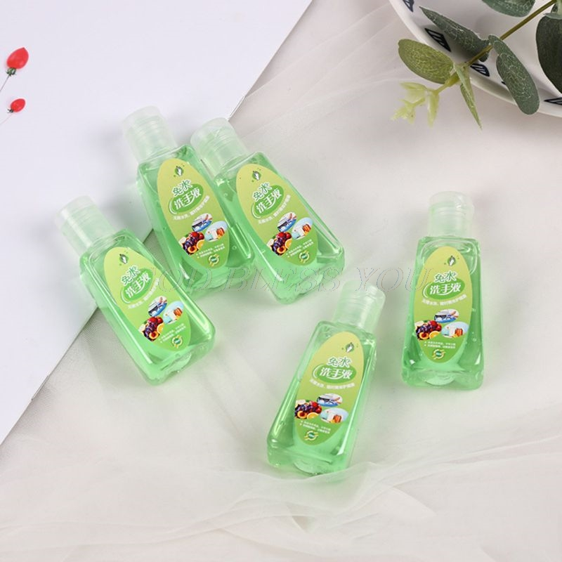 30ml Travel Portable Mini Hand Sanitizer Anti-Bacteria Moisturizing Fruit-Scente