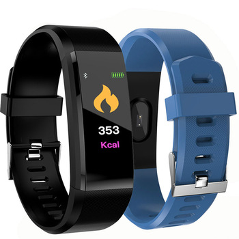 Couple watches 115 Plus Smart Wristband Blood Pressure Fitness Tracker Heart Rate Monitor Band Smart Activity Tracker Bracelet k6 color screen smart wristband sports bracelet heart rate blood pressure monitor fitness tracker for samsung galaxy s6 s5 s4 s3