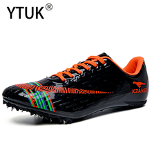 YTUK Men's Soft bottom Spikes Professional sneakers Women's Track and Field Shoes Running Training Shoes Light shoes Unisex