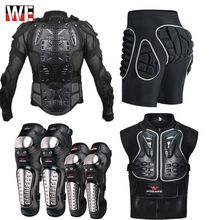 WOSAWE Motorcycle Jacket Chest Armor Back Support Motocross Protector Racing Protection Gear Turtle