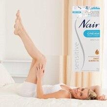 오리지널 호주 Nair Sensitive Hair Removal Cream for Face Leg 비키니 지역 Under Arms 스킨 젠틀 크림 for Hair Remover Men