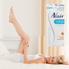 Original Australia Nair Sensitive Hair Removal Cream for Face Leg Bikini Area Under Arms Skin Gentle Cream for Hair Remover Men