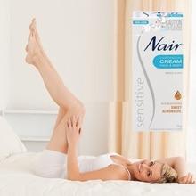 Oryginalny Australia Nair wrażliwy krem do usuwania włosów na twarz nogi Bikini obszar pod pachami delikatny krem do usuwania włosów mężczyzn