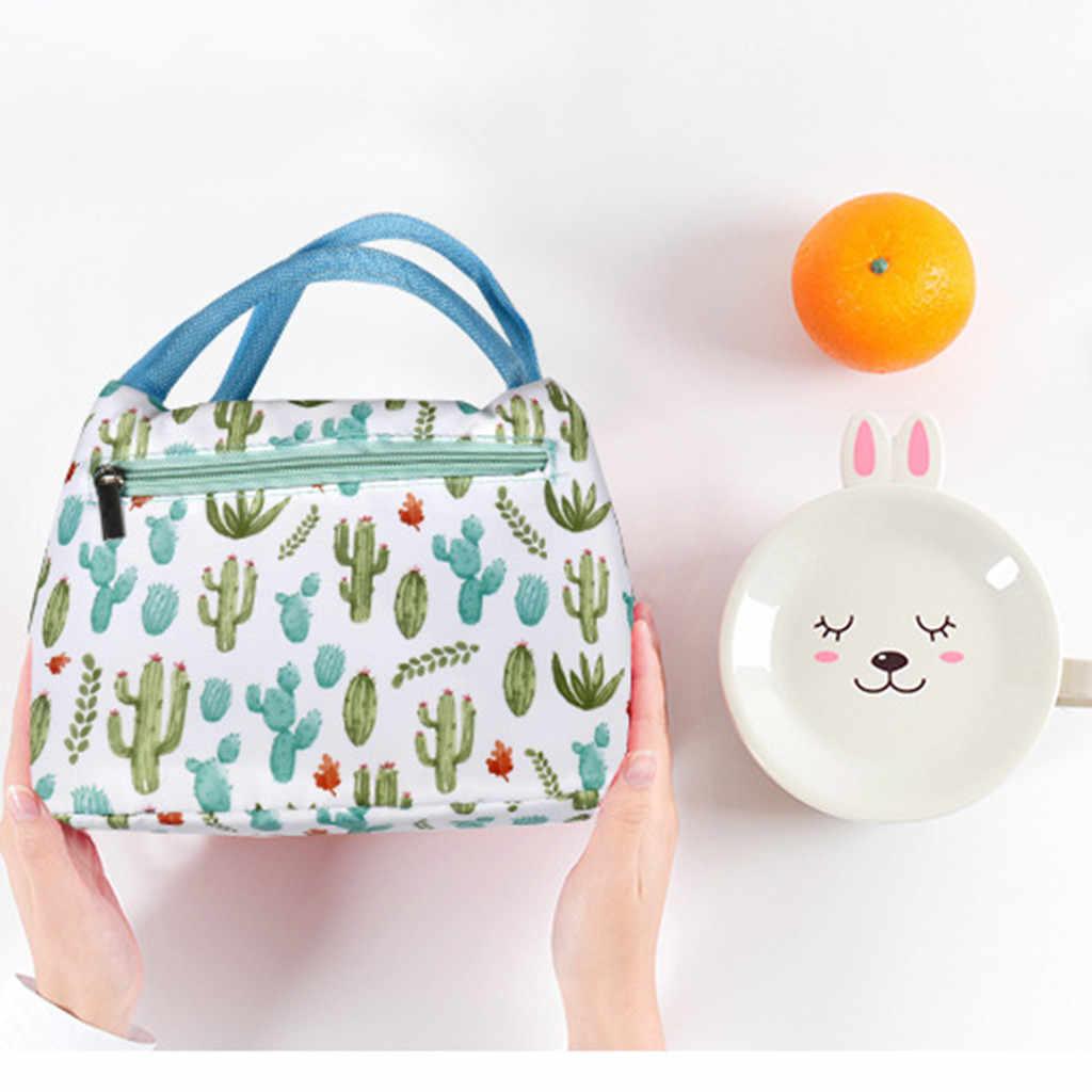 موضة جديدة المحمولة مقاوم للماء سمك نزهة الغداء حقيبة مكتب بولسا termica الغداء حقيبة الغذاء حقيبة للنساء الرجال طفل