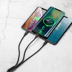 4 в 1 плоский USB Дата-кабель с кабелем 30Pin + 8Pin + 5Pin кабель Micro USB + кабель Примечание 3/S5 кабель для Samsung/HTC/Xiaomi/Huawei for iPhone 4/4S/5/5S/6 Plus