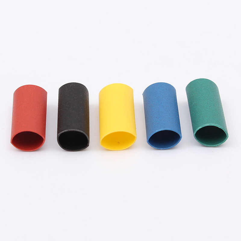ホット販売 500 個 3.0 ミリメートルポリオレフィン縮小盛り合わせ熱収縮チューブワイヤケーブル絶縁スリーブチューブセット 2:1