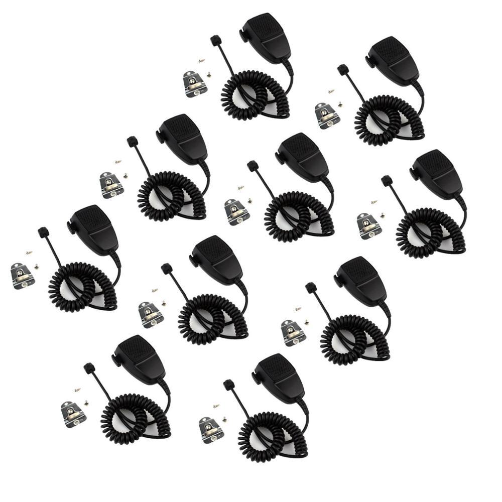 10pcs New 8-pin Speaker Mic Microphone For Motorola GM350 GM360 MAXTRAC GR1125/GR1225 J0167A